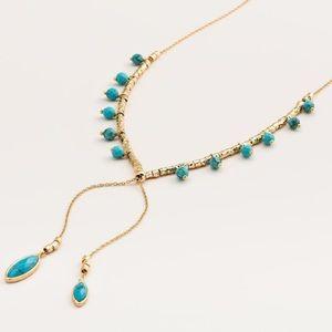 Gorjana Palisades Versatile Turquoise Necklace